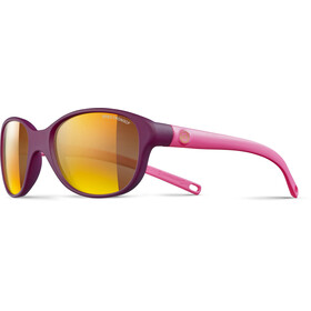 Julbo Romy Spectron 3CF Sunglasses Kids 4-8Y Prune Matt/Matt Pink-Multilayer Gold